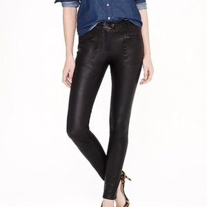 J. Crew Collection   100% Leather Moto Pants sz 4
